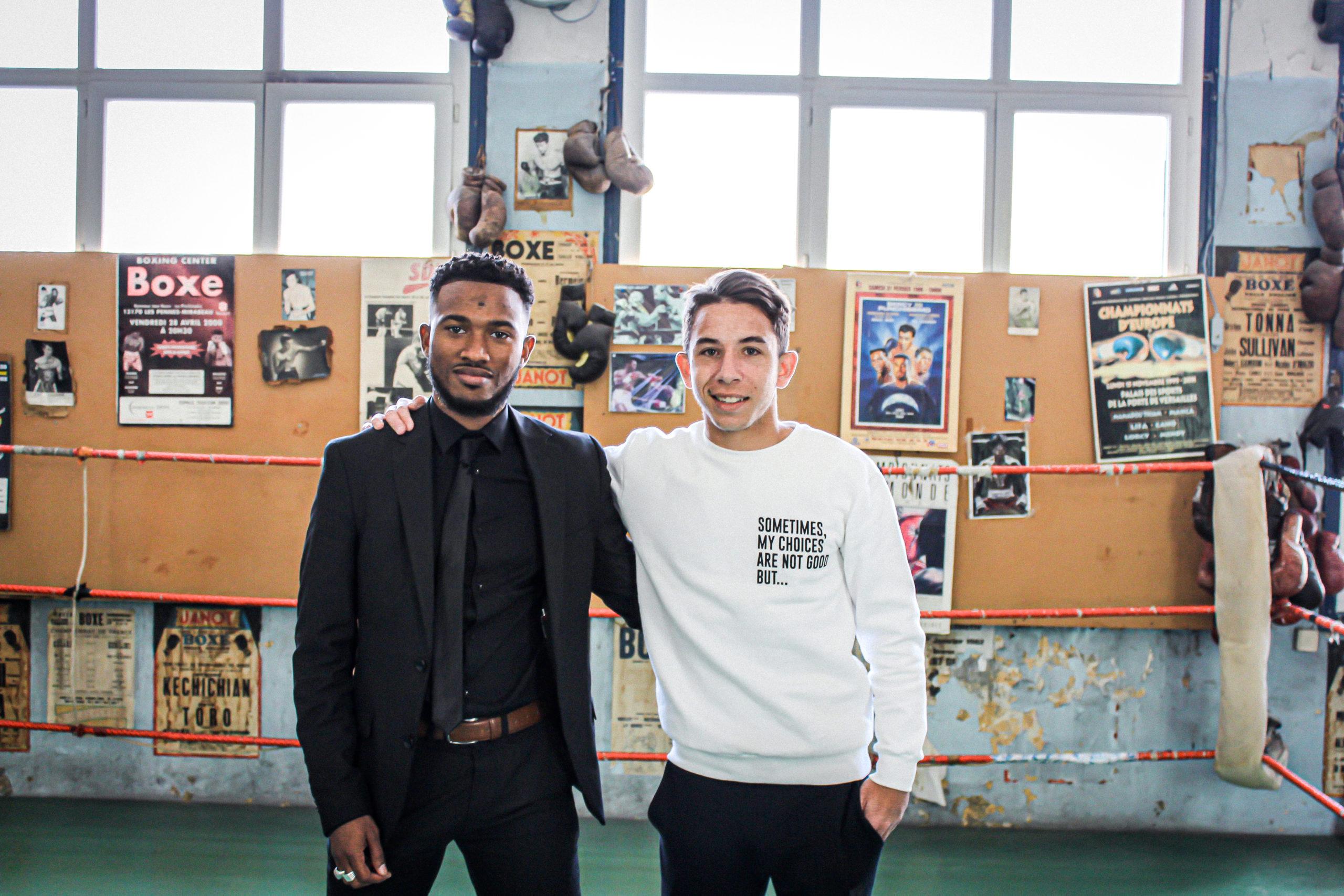 Portrait de Maxime Lopez et Raheem